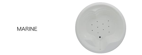 ゲルマ&バドガ 加工マイクロバブルバス MARINE  ジャグジー浴槽