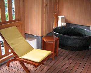 陶器浴槽 丸型 信楽焼陶浴槽