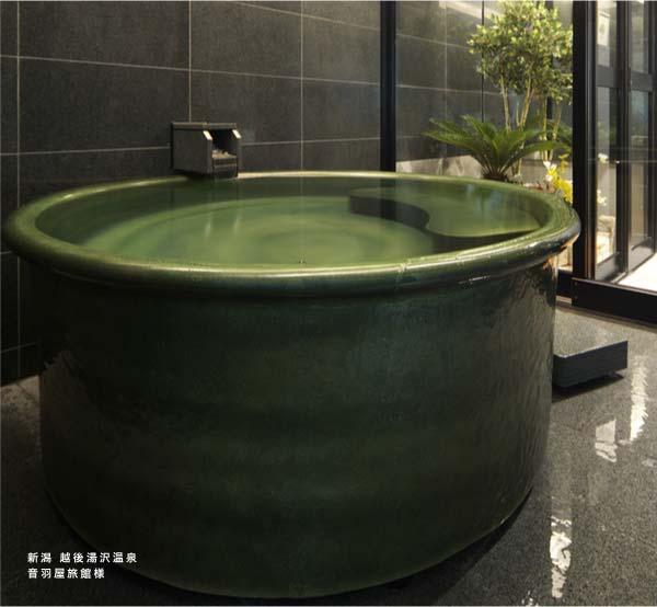 信楽焼陶器浴槽 新潟湯沢温泉 音羽屋旅館 導入
