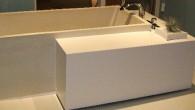 エコ・ビューティフルな陶器浴槽